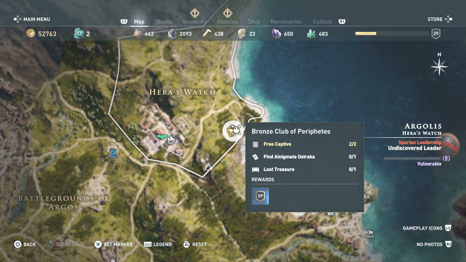 All Loot Treasure And Ancient Tablet Locations Argolis