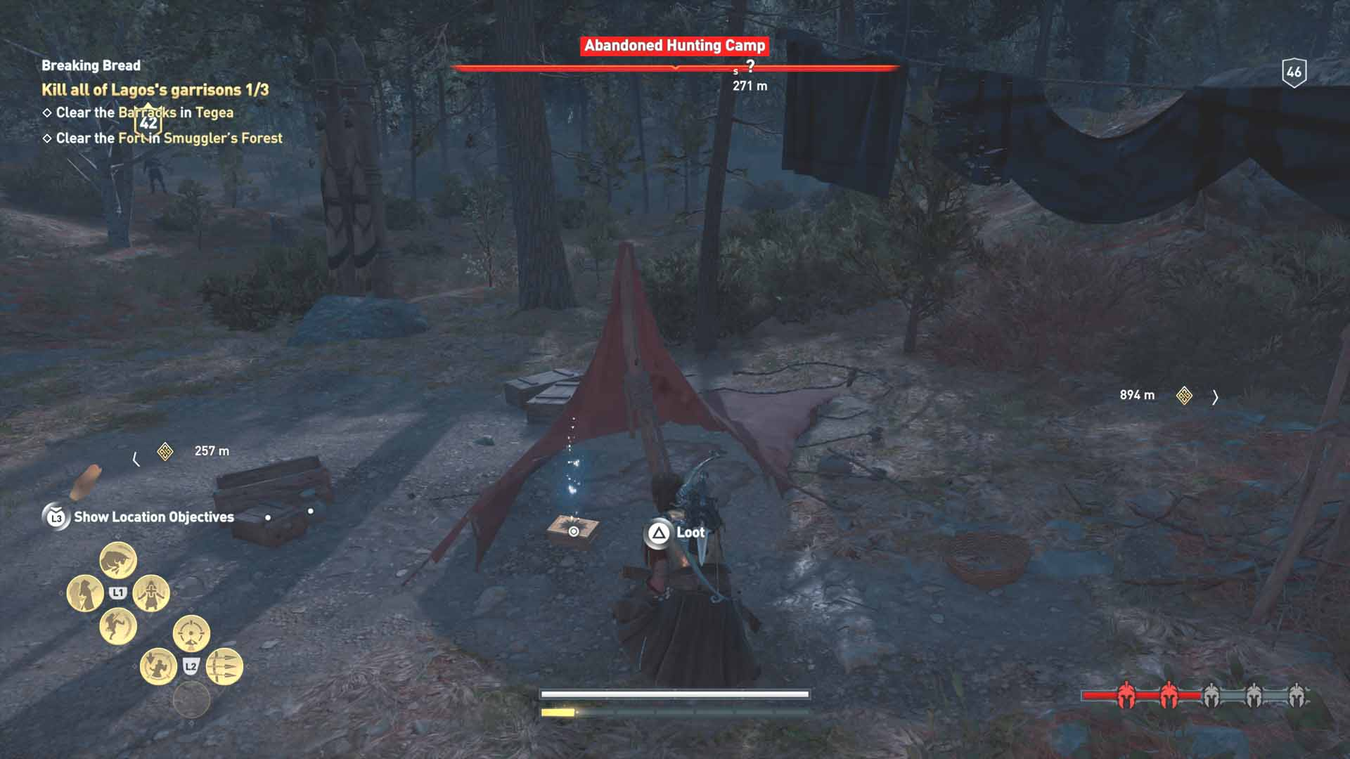 All Loot Treasure And Ancient Tablet Locations Arcadia Part 1