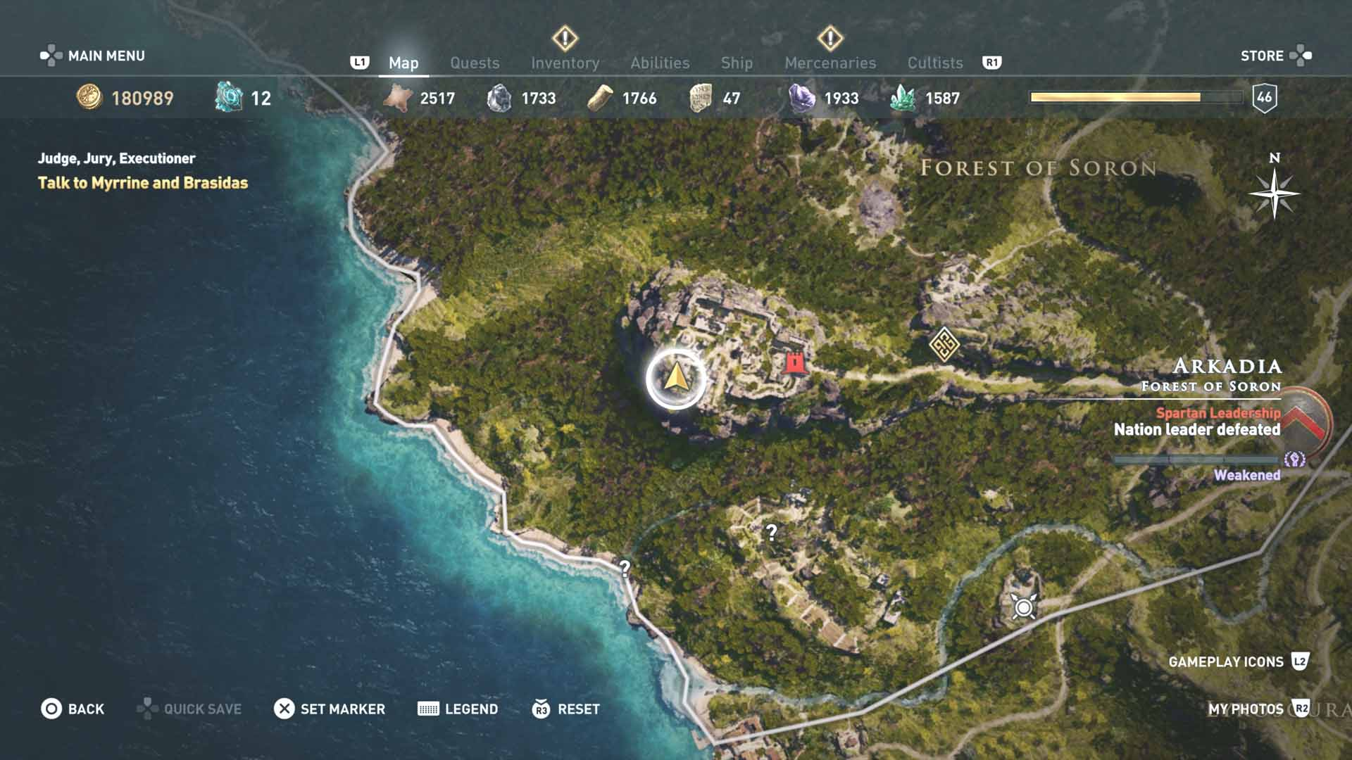 All Loot Treasure And Ancient Tablet Locations Arcadia Part 2 All Tombs Ainigmata And Loot Treasure Locations Assassin S Creed Odyssey