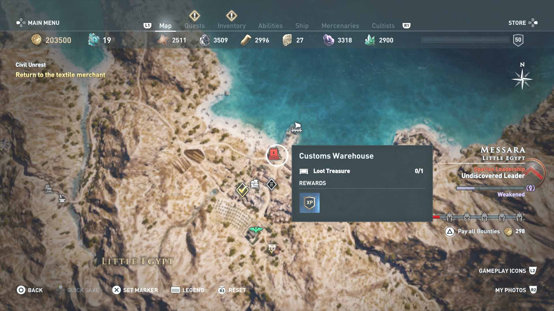 All Loot Treasure And Ancient Tablet Locations Messara All