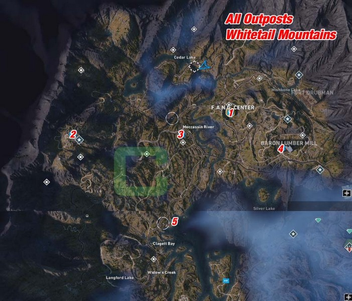 far cry 5 map