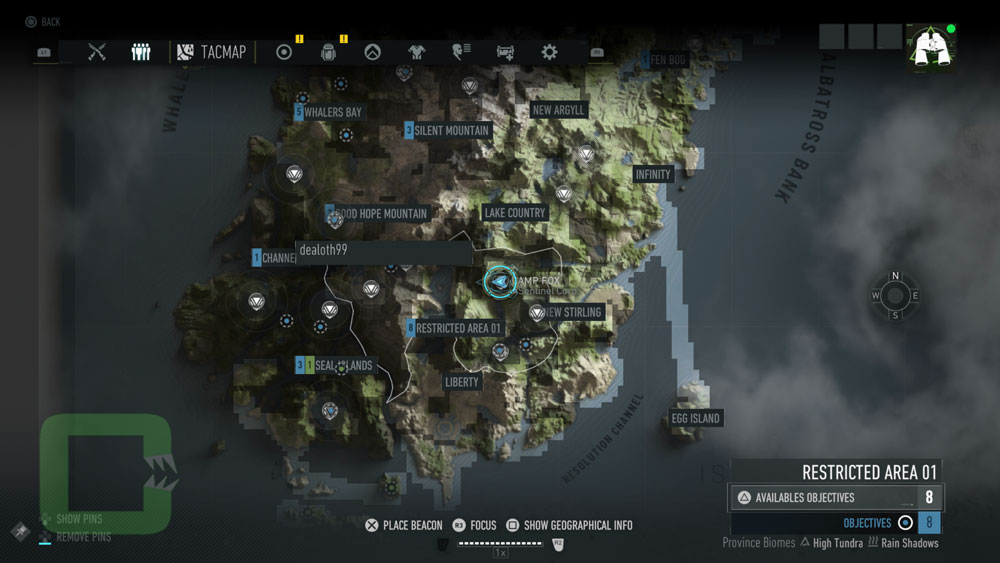 All Vip Profiles Collectibles Locations Ghost Recon