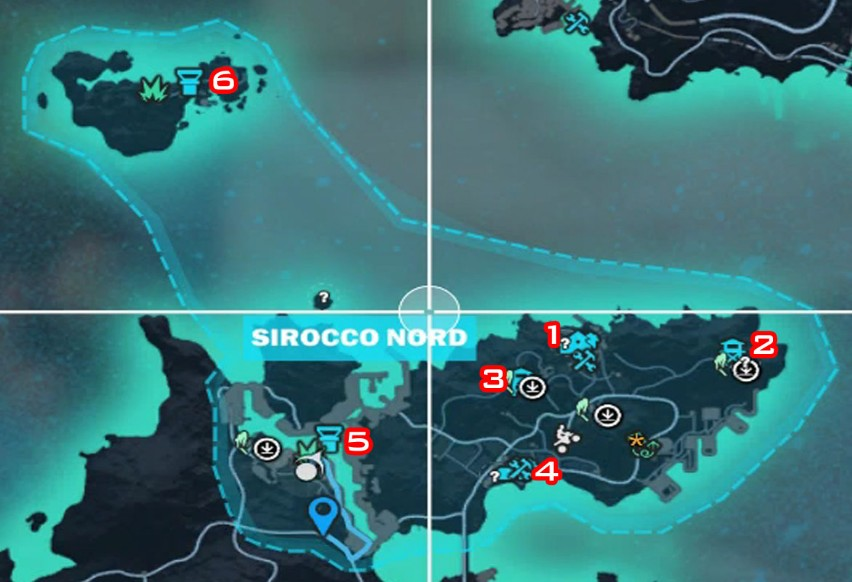 sirocco sud just cause 3 bases in relationship