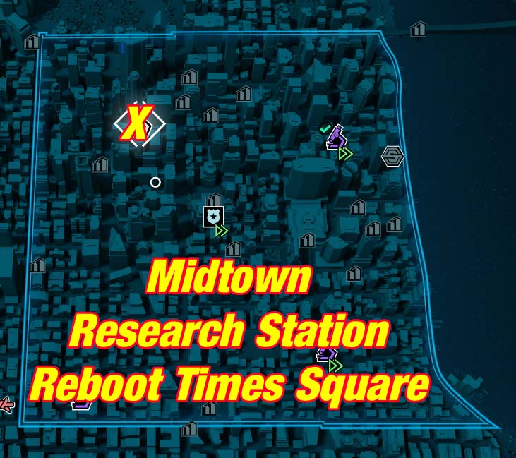 Reboot Times Square Research Station Camzillasmom Gaming Guides And Playthroughs