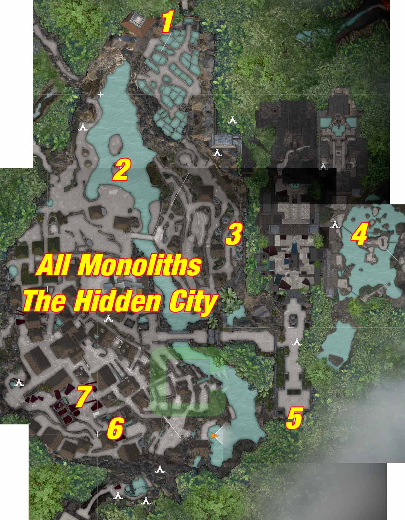 All Monoliths | The Hidden City | Shadow of the Tomb Raider
