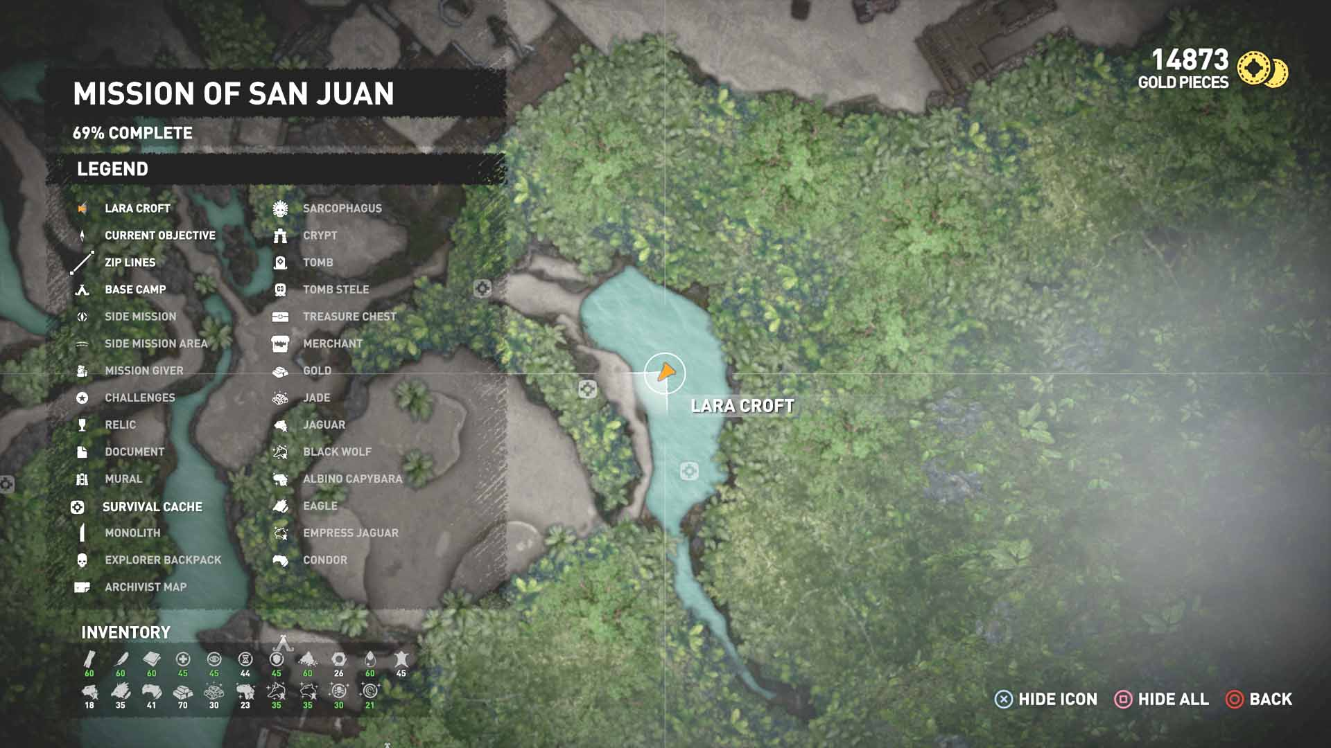 All Survival Caches | Mission of San Juan | Shadow of the