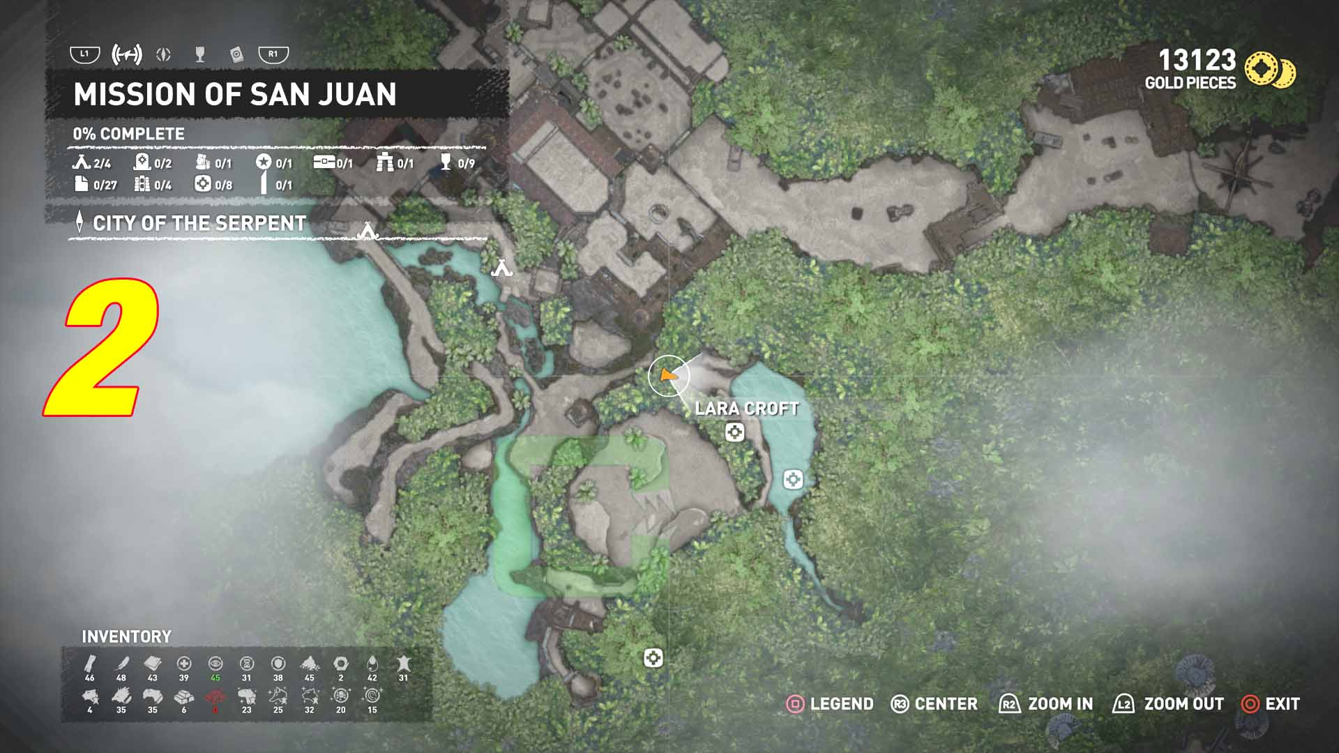 All Survival Caches   Mission of San Juan   Shadow of the