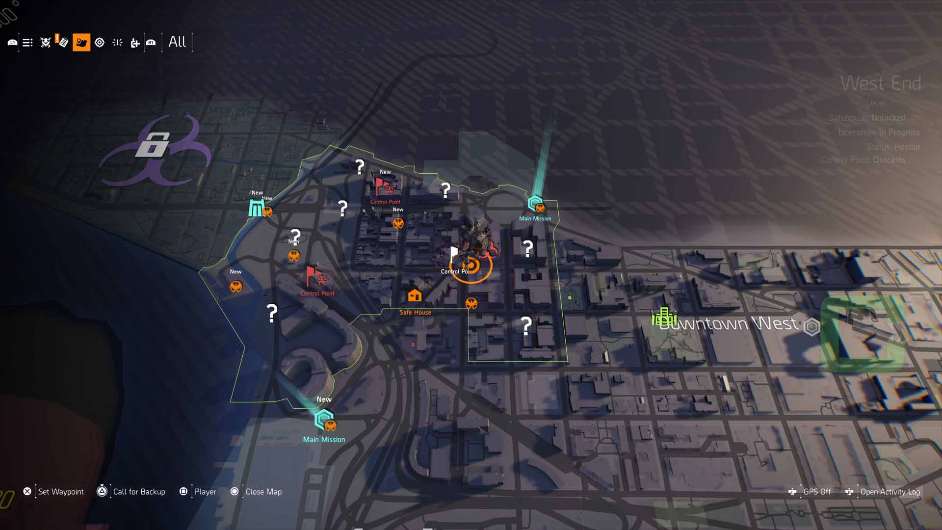 All Contaminated Areas Walkthrough And Comms Location